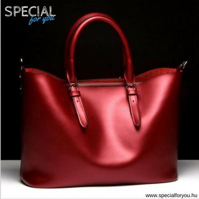 Glossy Chick - piros táska 5f0bd1f301